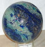 Arizona Azurite Malachite Cuprite Sphere