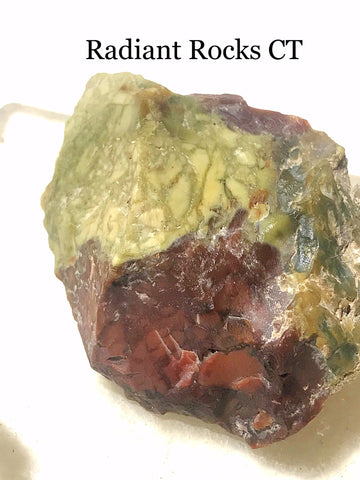 Morrisonite Picture Porcelain Jasper Lapidary rough 1.6 oz (40 grams) - radiantrocksct