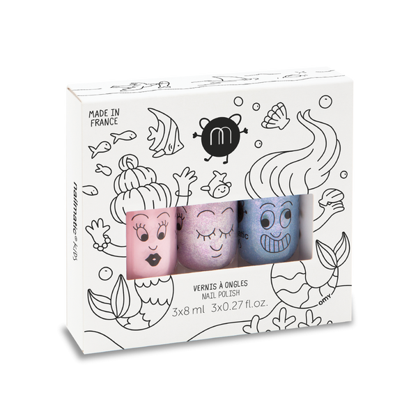 Kit Mermaid, Nailmatic Kids - Trésor de Zoë