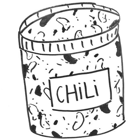 Foodchain Vegan Chili (.5L)
