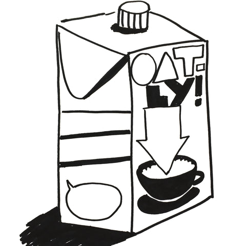 "Lait d'avoine ""Oatly"" (946ml)"