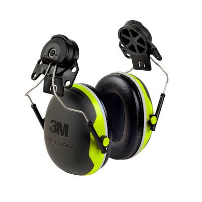 Peltor X4-Series Premium Helmet Mounted Earmuffs