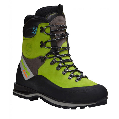 Arbortec Scafell Lite Chainsaw Boot Lime