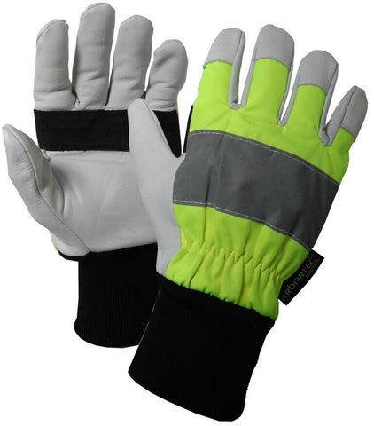 Arbortec Chainsaw Gloves Hi-Visibility