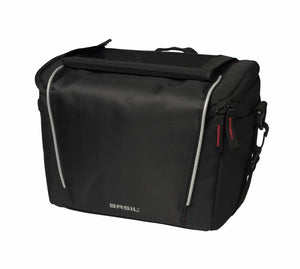 basil sport design handlebar bag 7l black