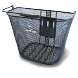 basil bremen kf bicycle basket black
