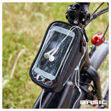 basil sport design framebag 1l black lifestyle