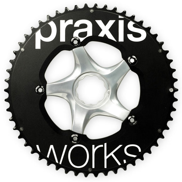 PRAXIS - Time Trial Ring 54/42T 130BCD