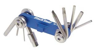 I-beam Mini Fold Up Hex Wrench/Screwdriver/Torx Set