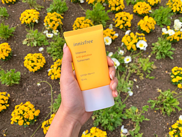 HI-REVIEW: Innisfree Anti-pollution Sunscreen ☀️ 😎