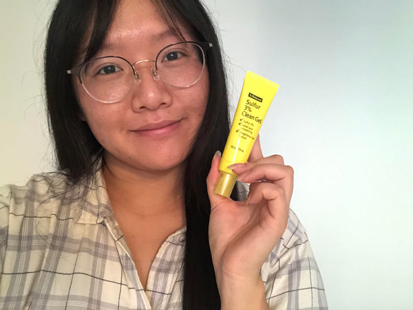 #YAYNAY TESTER TEAM: By Wishtrend Sulfur 3% Clean Gel 🌝 - Early 20s