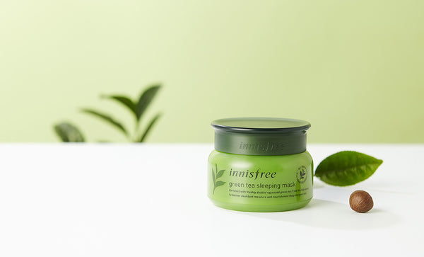 Hi-Review: INNISFREE Green Tea Sleeping Mask