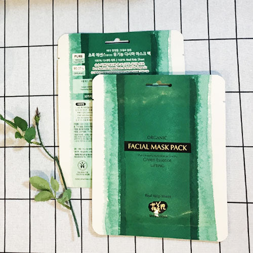 Review* Whamisa Organic Sea Kelp Hydro Gel Facial Mask Pack
