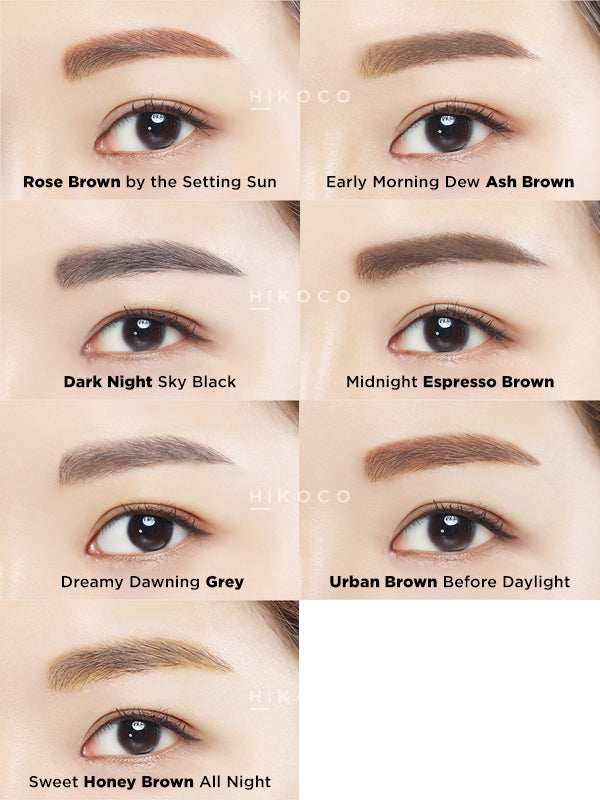 Innisfree Auto Eyebrow Pencil 06 Urban Brown Before Daylight Hikoco