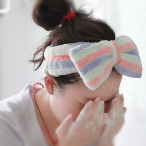 Hikoco Cute Ribbon Hair Band - Hikoco - Korean Beauty, Skincare, Makeup, Products in New Zealand - 2