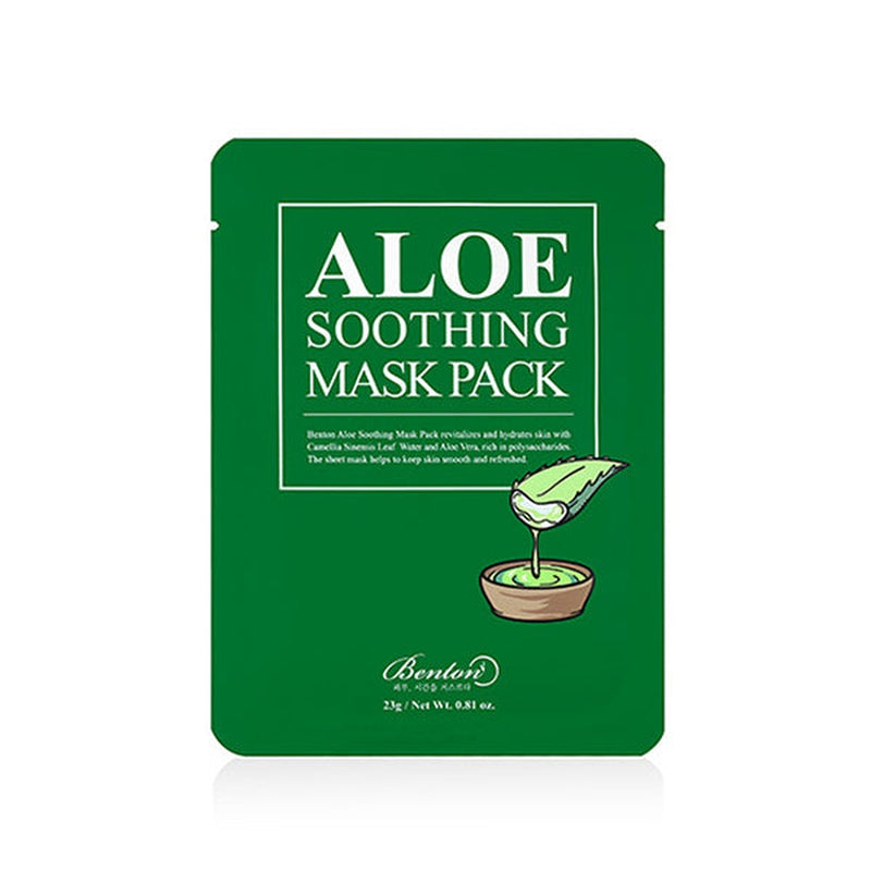Aloe Soothing Mask Pack Set [10 Masks]