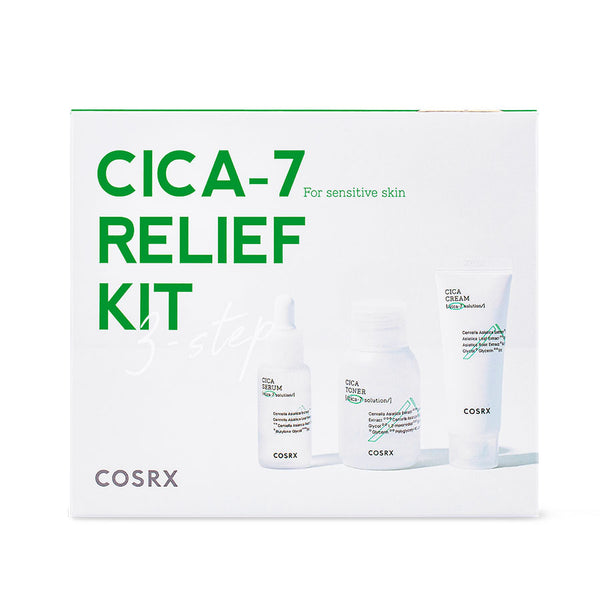 Cica-7 Relief Kit [3 Step]