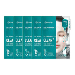Capsule 100 Bio Seconderm Mask Clear Alpha [5 Masks]