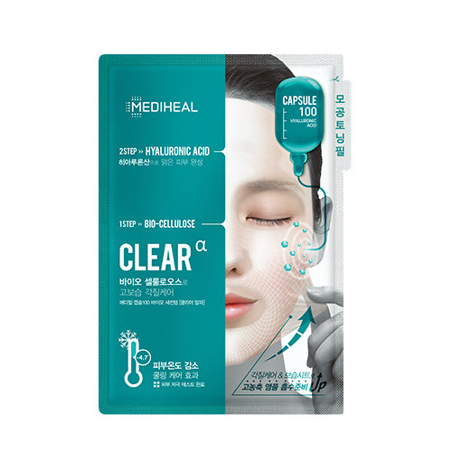 Capsule 100 Bio Seconderm Mask Clear Alpha [10 Masks]
