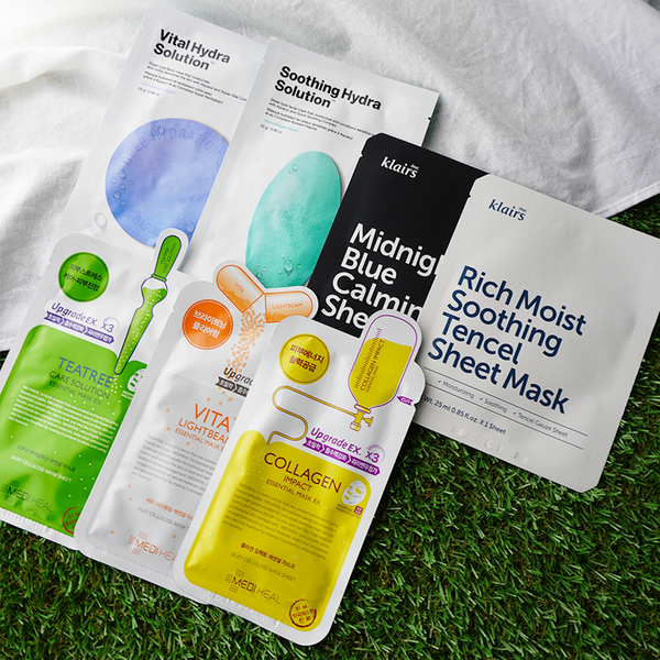 "7-Day Masks - ""TOP SHEET MASKS For Dummies"""