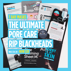 "7-Day Masks - ""The Ultimate Pore Care 🌚 RIP Blackheads"" [7 Masks]"