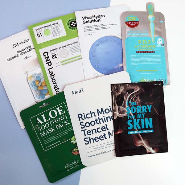#7DayMasks: Calm Stress, Calm Skin [7 Masks]