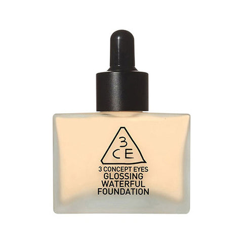 Glossing Waterful Foundation [#Nude Beige]