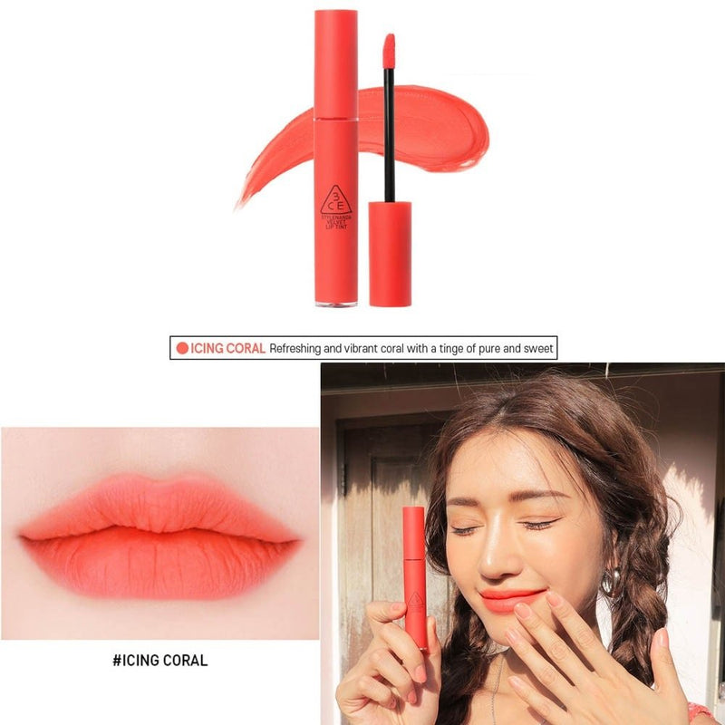 Velvet Lip Tint [#Icing Coral]