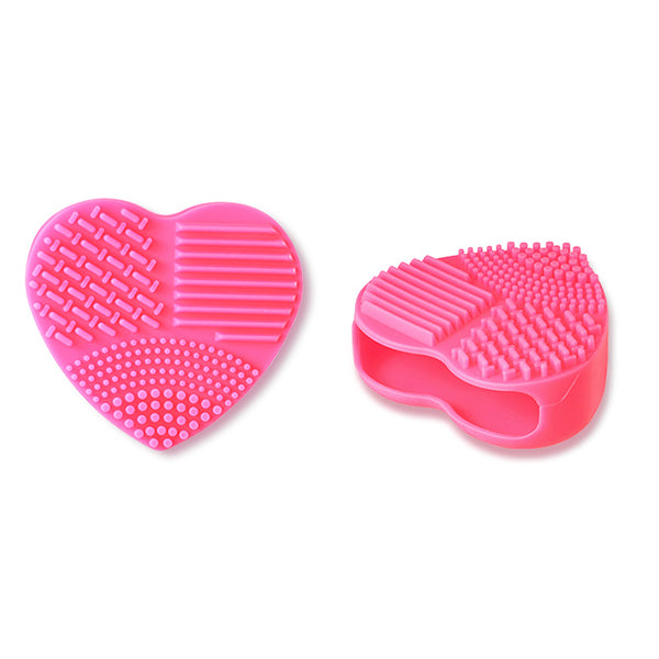 Brush Cleaning Bubble Silicon Pad