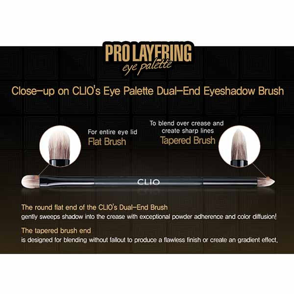 Clio Pro Layering Eye Palette [#01 Originality] - Hikoco - Korean Beauty, Skincare, Makeup, Products in New Zealand - 2