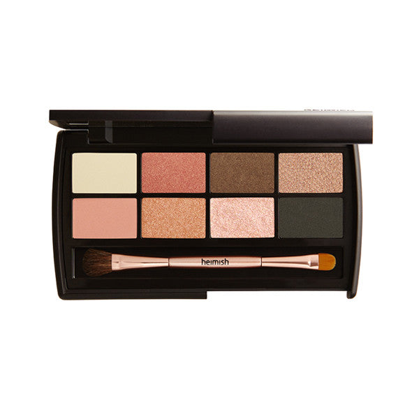 Heimish Dailism Eye Palette [#Cozy Coral] - Hikoco - Korean Beauty, Skincare, Makeup, Products in New Zealand - 1