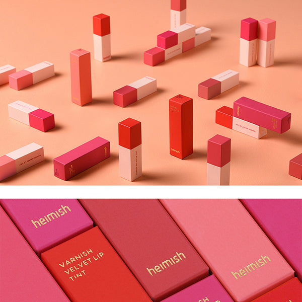 Varnish Velvet Lip Tint [#02 Peach Coral]