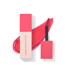 Varnish Velvet Lip Tint [#03 Scarlet Pink]