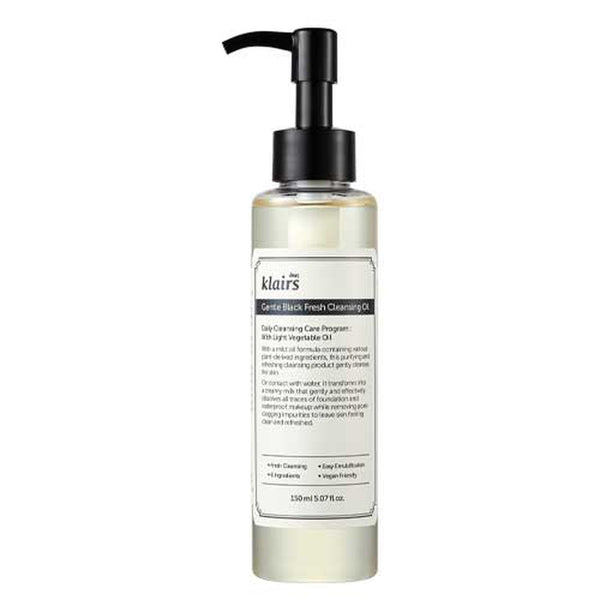 Gentle Black Fresh Cleansing Oil