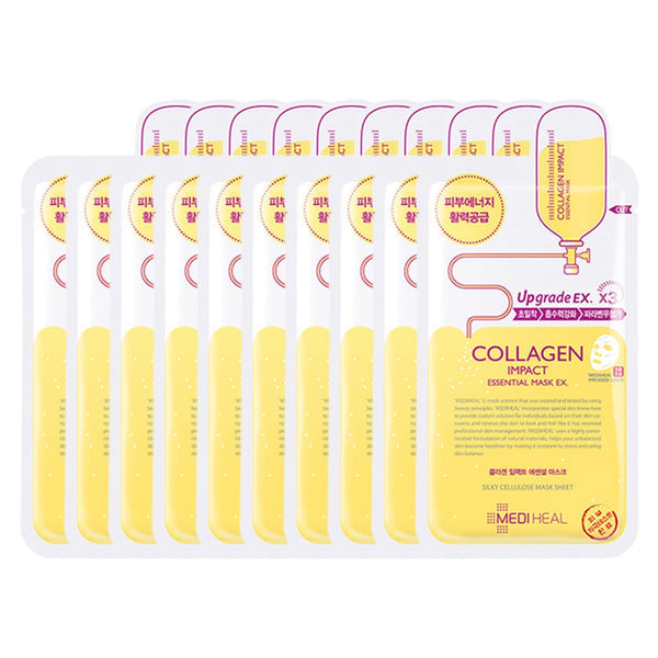 Collagen Impact Essential Sheet Mask Set [10 Masks]