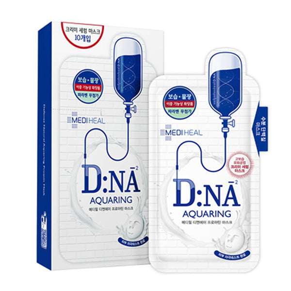 D:NA Aquaring Proatin Sheet Mask Set [10 Masks]