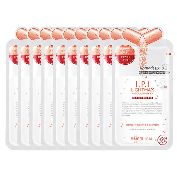 I.P.I Lightmax Ampoule Mask EX Set [10 Masks]