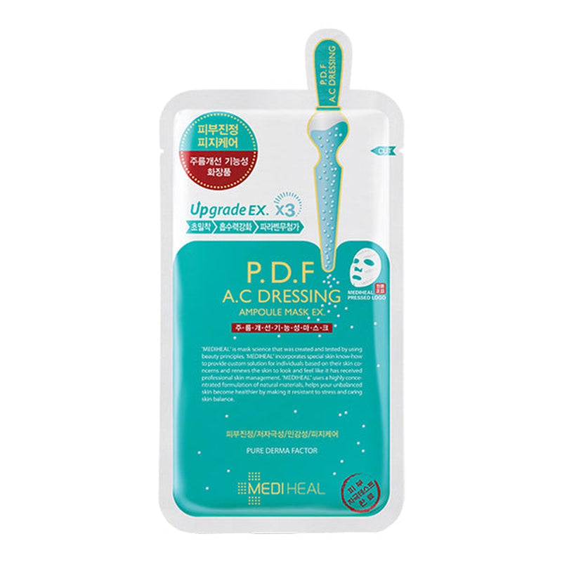 P.D.F A.C Dressing Ampoule Sheet Mask EX Set [10 Masks]
