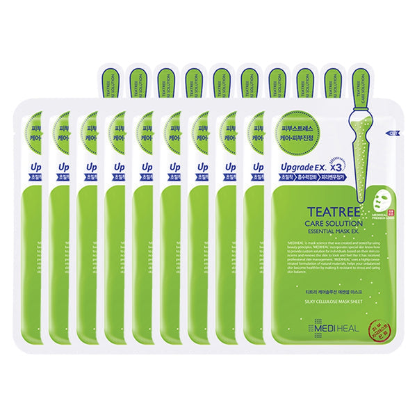 Teatree Care Solution Essential Sheet Mask EX Set [10 Masks]