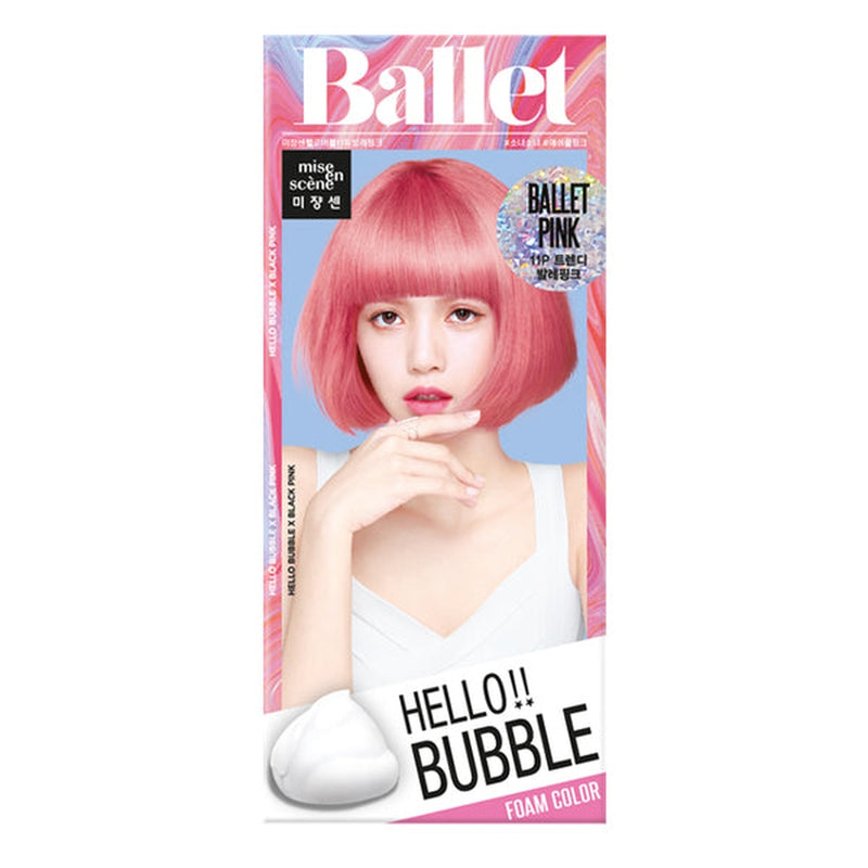 Hello Bubble Hair Colour [#11P Ballet Pink]