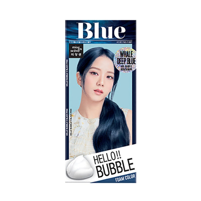 Hello Bubble Hair Colour [#4B Whale Deep Blue]