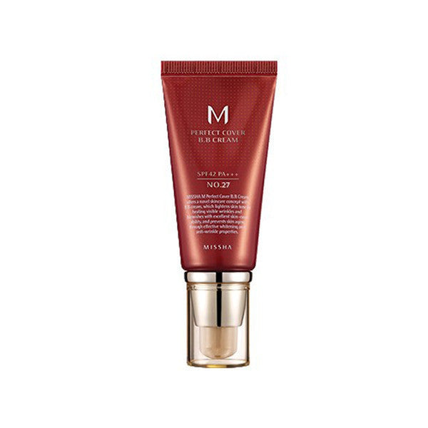 M Perfect Cover BB Cream SPF42 PA+++ [#27 Honey Beige]