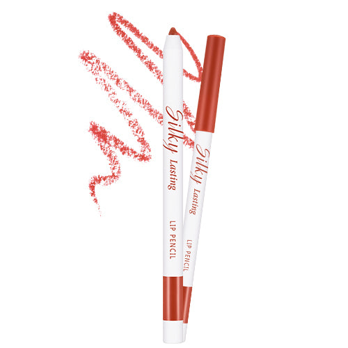 Silky Lasting Lip Pencil [#Salsa Red]