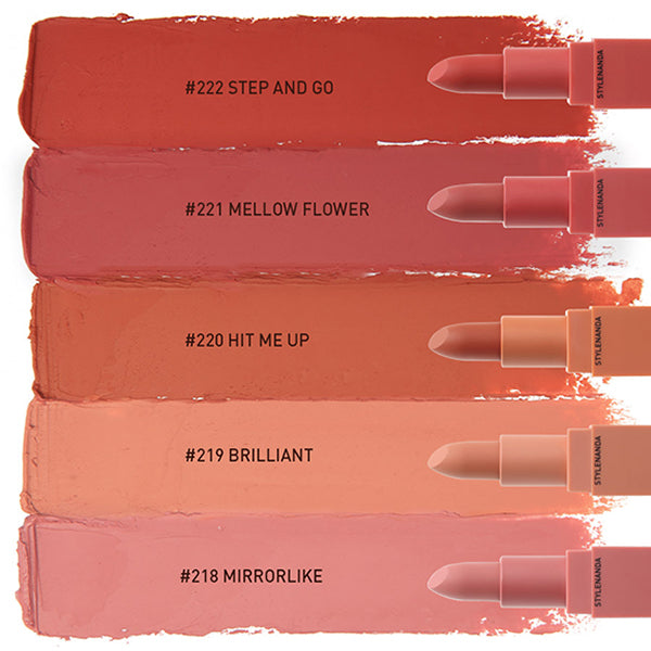 Mood Recipe Matte Lip Colour [#221 Mellow Flower]