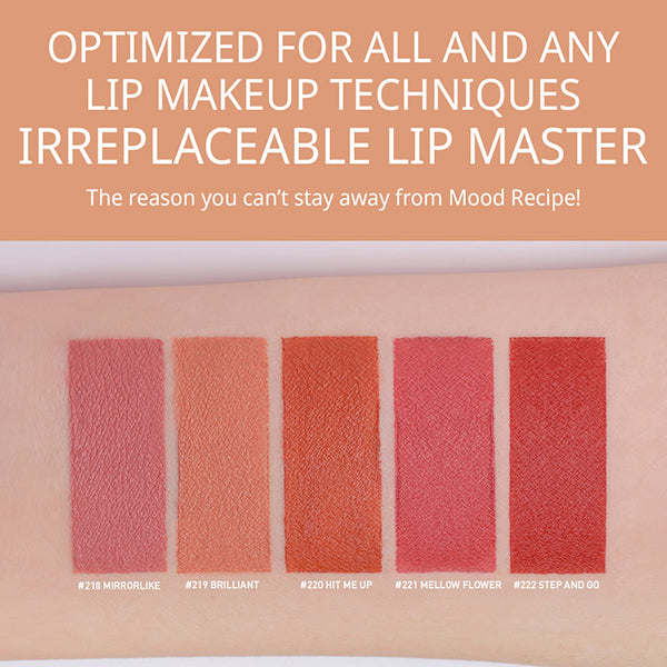 Mood Recipe Matte Lip Colour [#219 Brilliant]