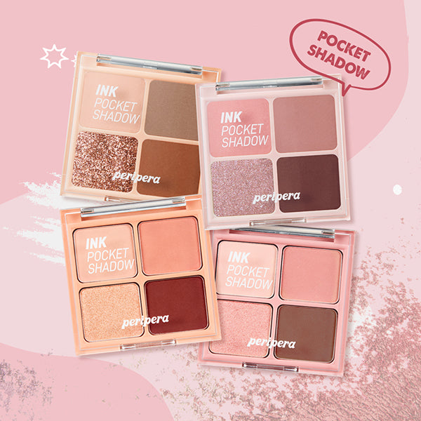 Ink Pocket Shadow Palette [#01 My Little Red Bean]