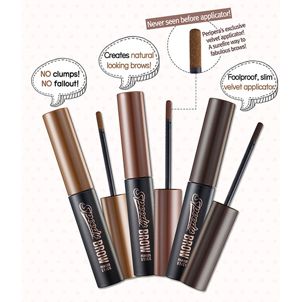 Speedy Brow Powder Stick [#03 Grey Brown]