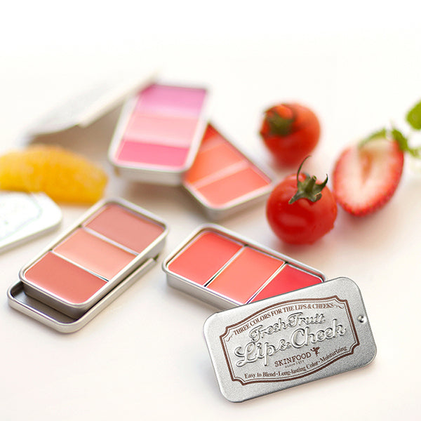 Fresh Fruit Lip & Cheek Trio [#4 Fig]
