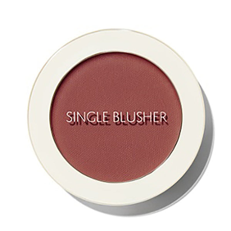 Saemmul Single Blusher [#RD02 Dry Rose]