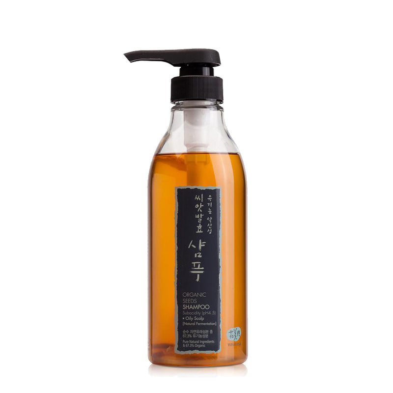 Organic Seeds Ferment Shampoo for Oily Scalp